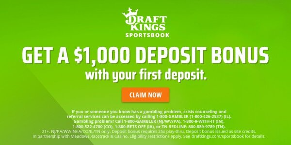 DraftKings Sportsbook bonus offer