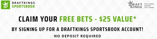 New player bonus with DraftKings