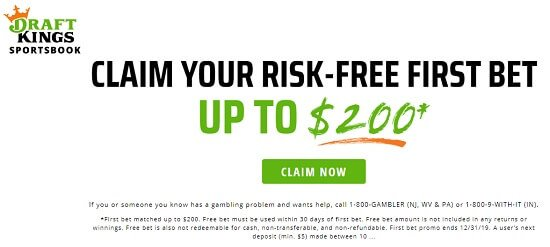 DraftKings Sportsbook new bonus offer