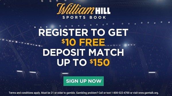 William Hill NJ Bonus