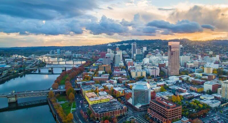 Portland in Oregon