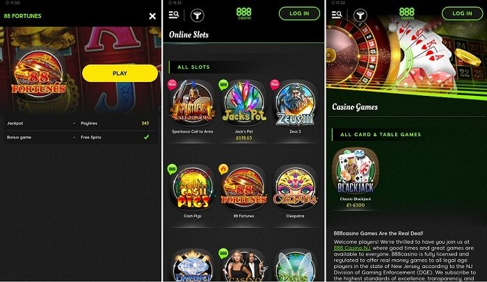 888 Casino NJ for Android