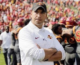Matt Campbell of Iowa State