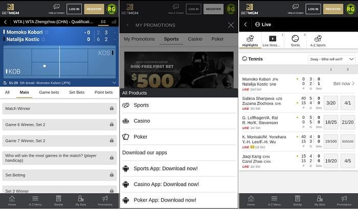 BetMGM app review