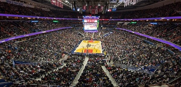 Capital One Arena in Washington DC