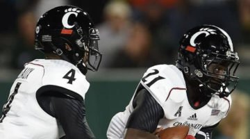 Free NCAA football pick Tulsa Golden Hurricane at Cincinnati Bearcats