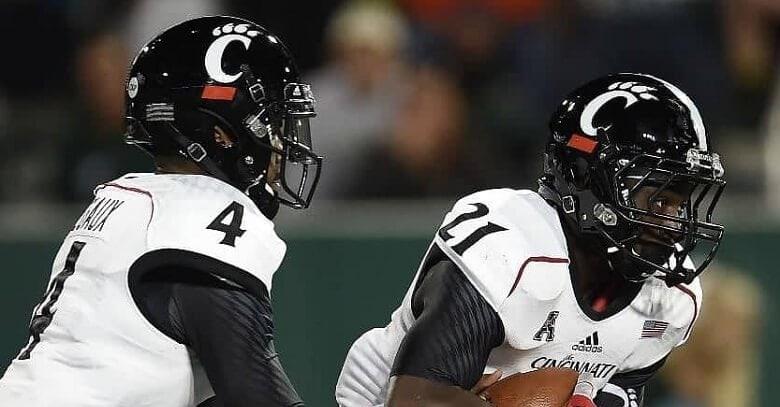 Free NCAA football pick Tulsa Golden Hurricane at Cincinnati Bearcats