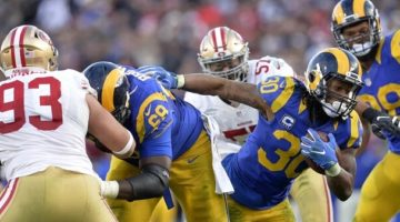 Free Football picks - San Francisco 49ers at Los Angeles Rams