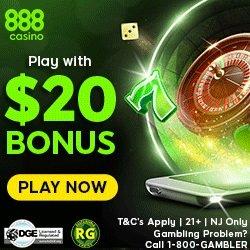 888 casino NJ Bonus