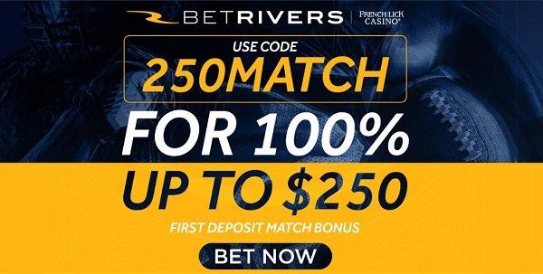 BetRivers sportsbook bonus