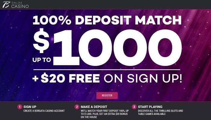 Borgata online casino promo