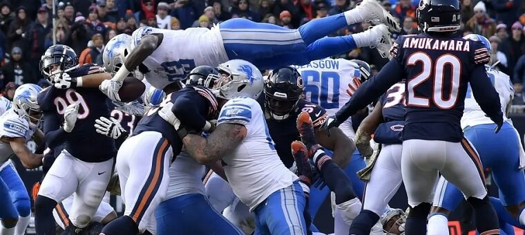 Free NFL Pick - Detroit Lions at Chicago Bears