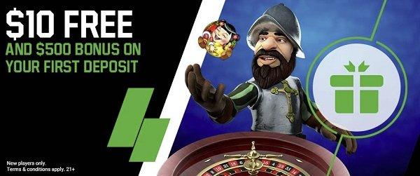 Unibet casino app bonus