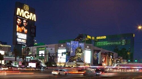 MGM hotel, Vegas