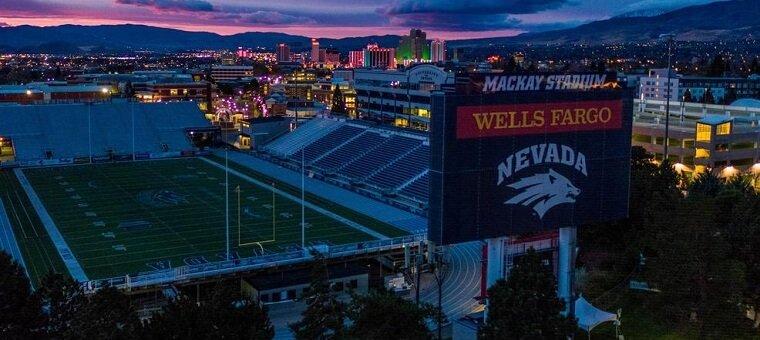 The Mackay Stadium in Nevada