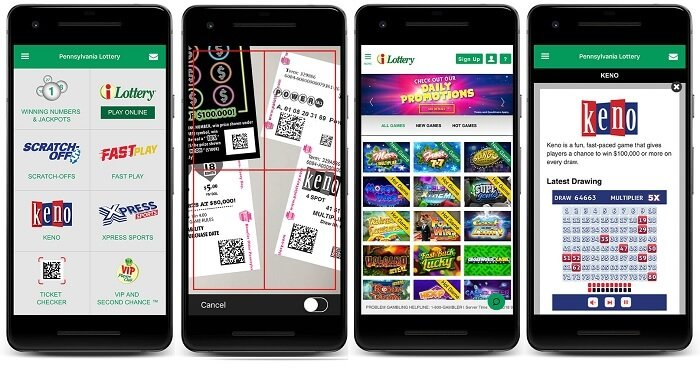 PA iLottery app for Android & iPhone