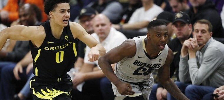 Colorado Buffaloes at Oregon Ducks