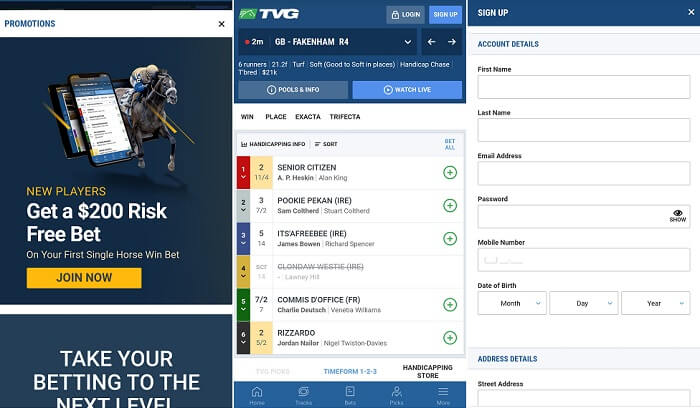 TVG mobile app review