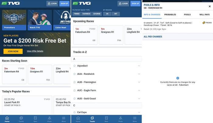 TVG mobile platform