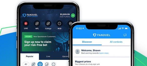 FanDuel screenshot