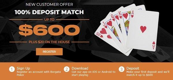 Borgata Poker Bonus Offer