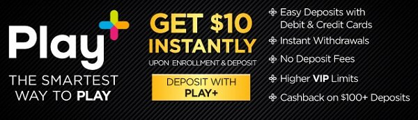 Play+ NJ Casinos offer