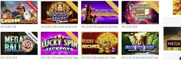 Games at Sugarhouse Casino4fun