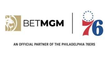 BetMGM Philadelphia 76ers partnership
