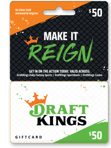 DraftKings Sportsbook gift cards