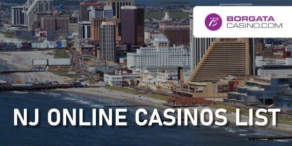 NJ Online Casino List
