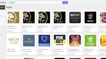 BetMGM Google Play Store