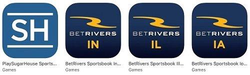 BetRivers & PlaySugar House iTunes