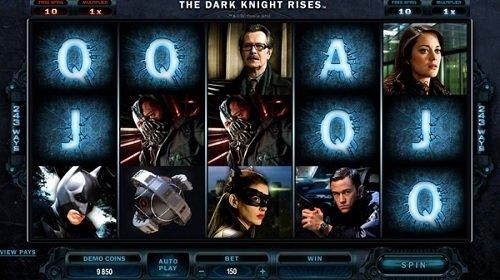 Playtechs The Dark Knight slot game