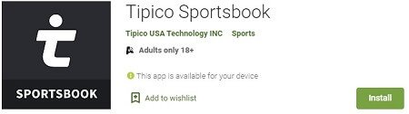 Tipico sportsbook app Google Play