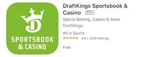 Update DraftKings sportsbook app