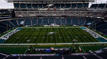 Empty Eagles stadium