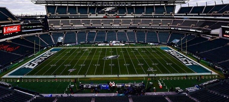 Empty Eagles stadium