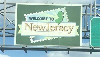 NJ state border