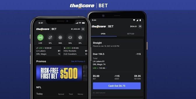 theScore bet Illinois