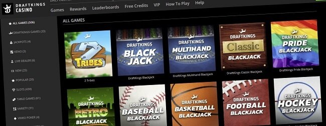 Latest promo code for DraftKings Casino