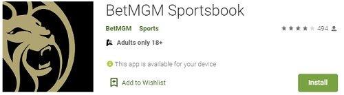BetMGM Sports Google Play