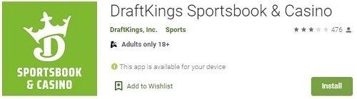 DraftKings Sportsbook Google Play