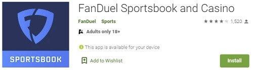 FanDuel Sportsbook Google Play