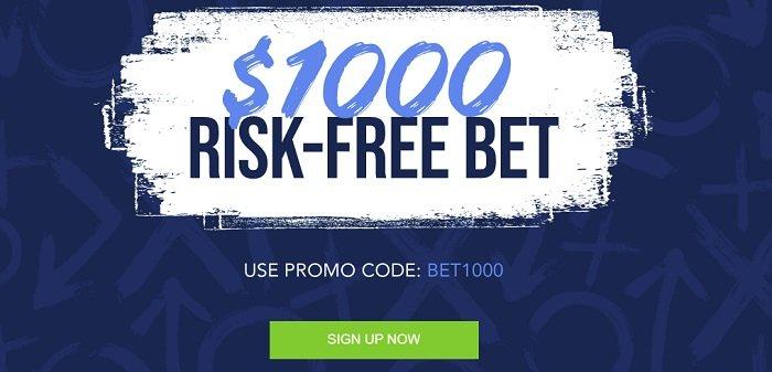 TwinSpires Sportsbook $1,000 bonus