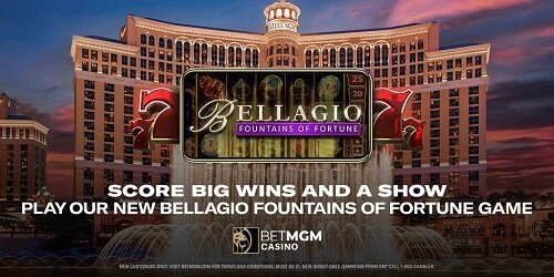 Bellagio Fountains Of Fortune
