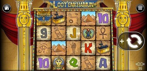 Loot'EnKhamun slot at BetMGM