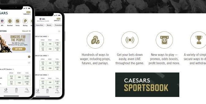 Caesars new sportsbook app