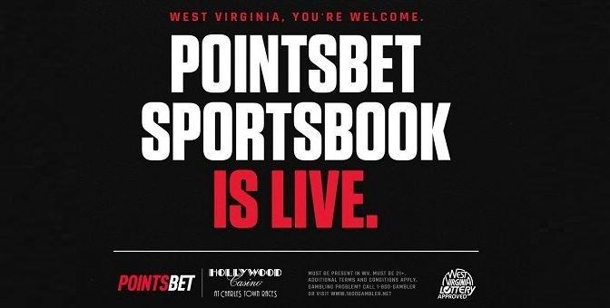 PointsBet WV live