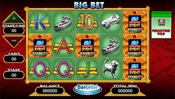 monopoly big event slot game